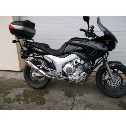 Tłumik 40 cm z poszyciem aluminiowym malowany proszkowo na czarno Yamaha TDM 850