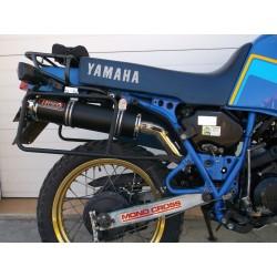 Tłumik 40 cm z poszyciem aluminiowym malowany proszkowo na czarno Yamaha XT 600