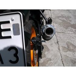 Kompletny układ wydechowy z tłumikiem 50 cm ze stali nierdzewnej -Honda Cbr 125 R