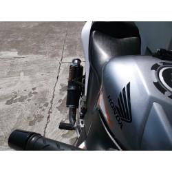 Kompletny układ wydechowy z tłumikiem 40 cm ze stali nierdzewnej Honda Cbr 125 R