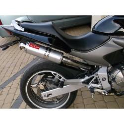Tłumik 40 cm z poszyciem aluminiowym malowany proszkowo na czarno Honda Hornet 600 PC36