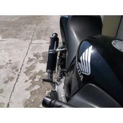 Tłumik 50 cm ze stali nierdzewnej polerowany Honda CBR 600 F4i