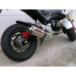 Kompletny układ wydechowy z tłumikiem 50 cm do Honda MSX 125