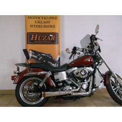 Układ wydechowy kompletny z tłumikiem Megafon -Harley Davidson FXDL Dyna 1584