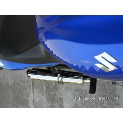 Tłumik 50 cm ze stali nierdzewnej polerowany Suzuki GS500