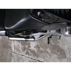 Tłumik 50 cm ze stali nierdzewnej polerowany Honda CBF 500