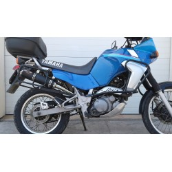 Tłumik 40 cm ze stali nierdzewnej polerowany Yamaha XT660 Tenere (91-99)