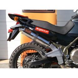 Tłumik 50 cm ze stali nierdzewnej polerowany Kawasaki KLE 500